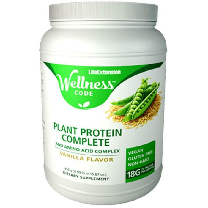 Life Extension, Plant Protein Complete Van 15 servings