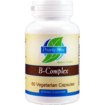 Priority One Vitamins, Priority B-Complex 60 vcaps