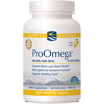 ProOmega Lemon 60 fish gels by Nordic Naturals
