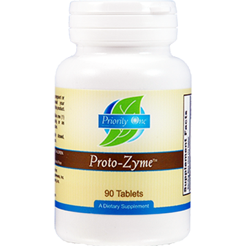 Priority One Vitamins, Protozyme 90 tabs