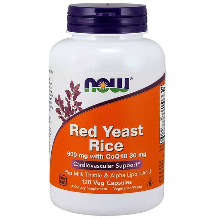 NOW, Red Yeast Rice & CoQ10 120 vcaps