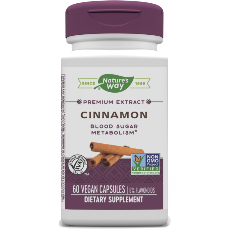 Cinnamon 60 vegcaps by Nature's Way
