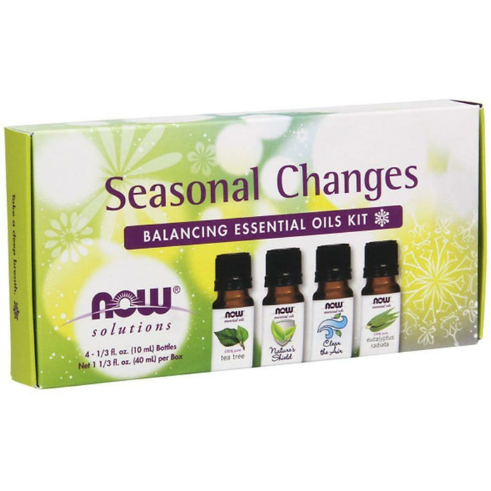 NOW, Seasonal Changes Aromatherapy Kit