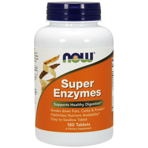 NOW, Super Enzymes 180 tabs