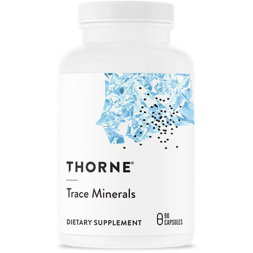 Thorne Research, Trace Minerals 90 Capsules
