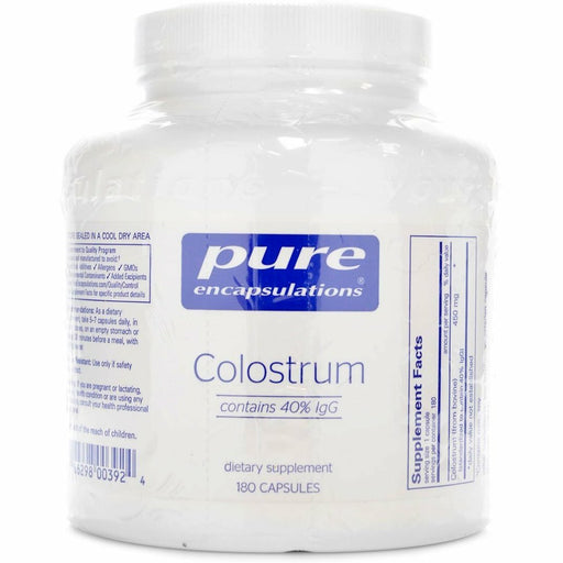 Pure Encapsulations, Colostrum 40% IgG 450 mg 180 vcaps