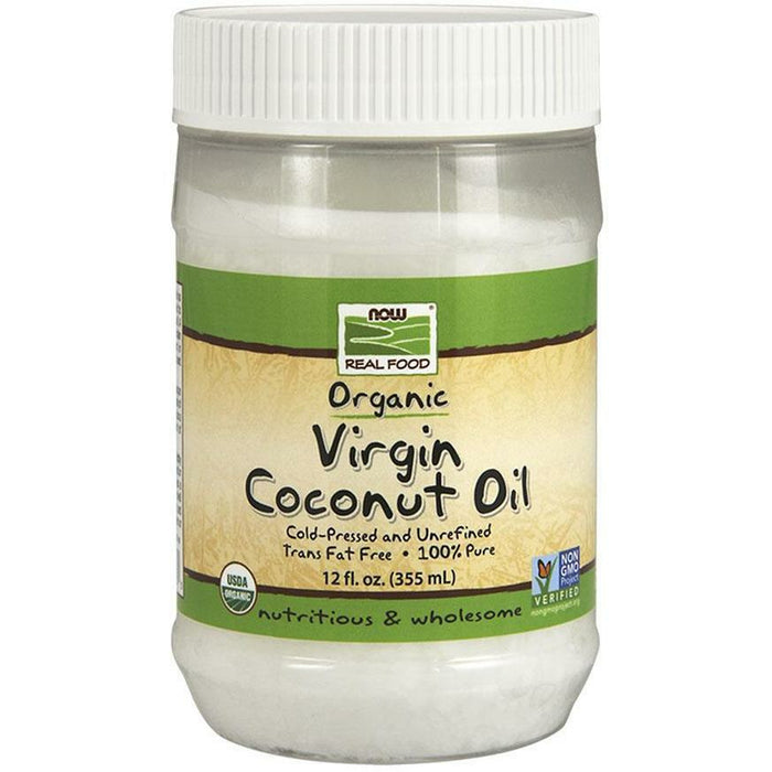 NOW, Organic Virgin Coconut Oil 12oz
