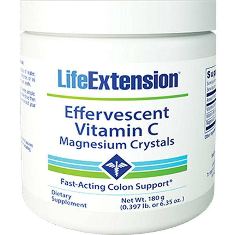 Life Extension, Vitamin C- Magnesium Crystals 180 g