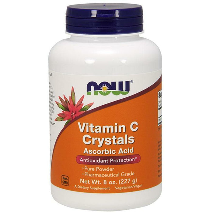 NOW, Vitamin C Crystals 8 oz