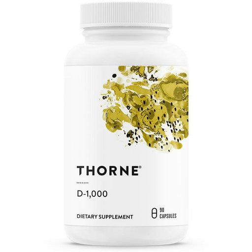Thorne Research, Vitamin D-1000/Preservative Free 90 Capsules