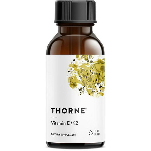 Thorne Research, Vitamin D/K2 1oz