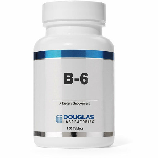 Douglas Labs, Vitamin B-6 100 mg 100 tabs