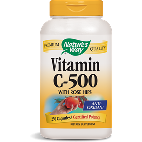 Vitamin C-500 with Rose Hips 250 caps