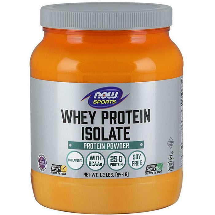 NOW, Whey Protein Isolate 1.2 lbs