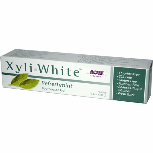 XyliWhite Toothpaste Refreshmint 6.4 oz by NOW