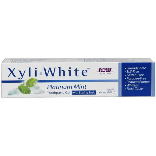 XyliWhite Toothpaste Platinum Mnt 6.4 oz by NOW
