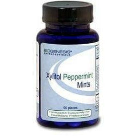 BioGenesis, Xylitol Peppermint Mints 90 pcs