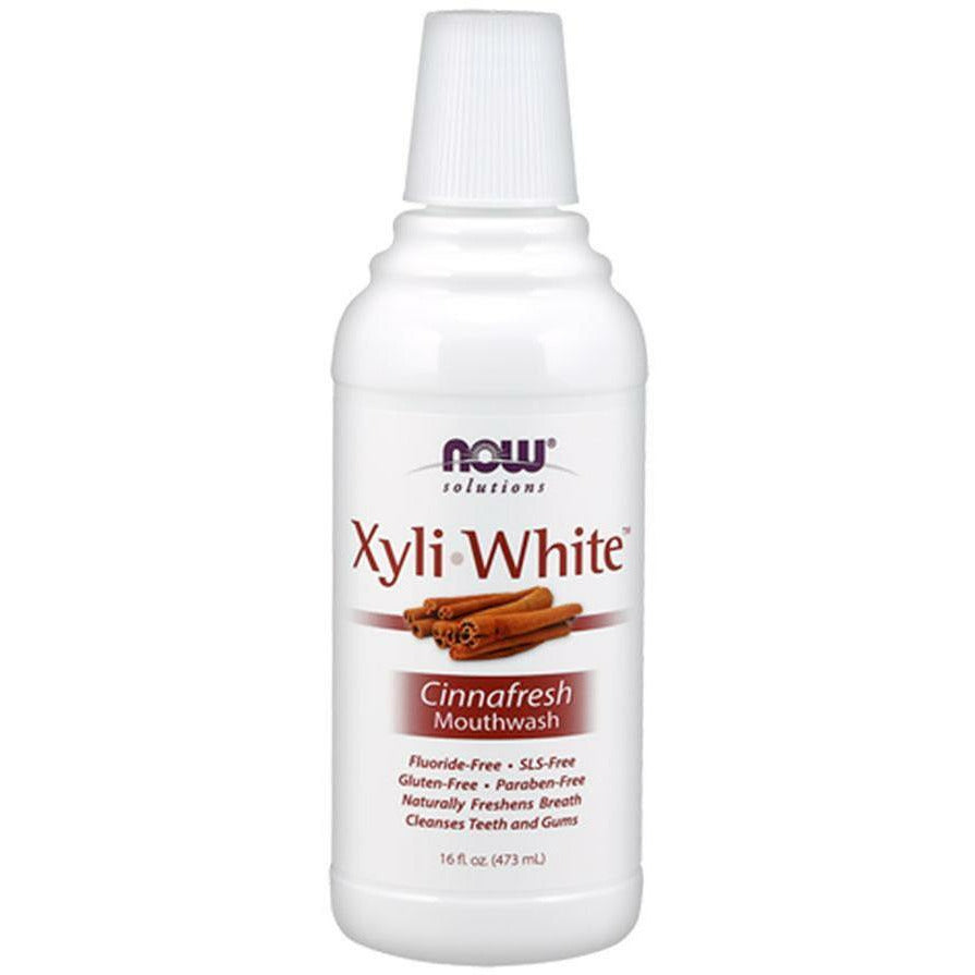NOW, XyliWhite Cinnafresh Mouthwash 16 oz