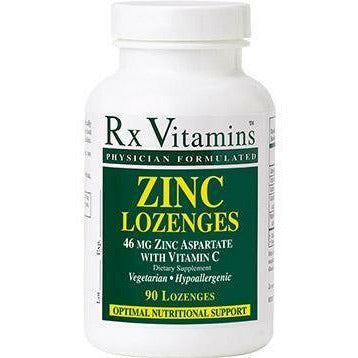 Rx Vitamins, Zinc Lozenges 15 mg 90 loz