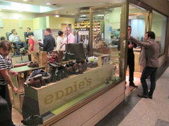 Paul Evans Review Eddie's Shoeshine at 30 Rock