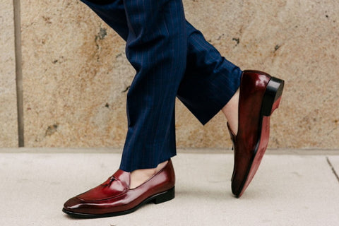 a61ed7d348e Paul Evans Italian leather shoes ranked  dressiest to most casual