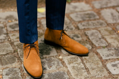 Transitional Chukkas Styling Your Favorite Fall Boots For