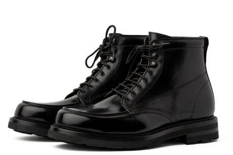 The Ford Moc-Toe Boot - Nero