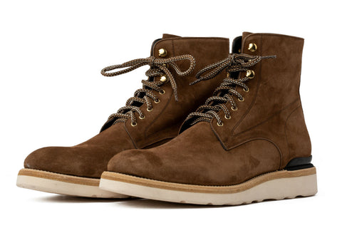 The Polo Suede Lace-Up Boot - Martora