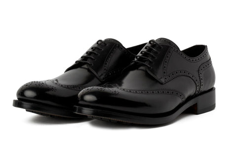 The Churchill Wingtip Derby - Nero