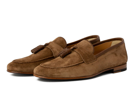 The James Unlined Tassel Loafer - Martora