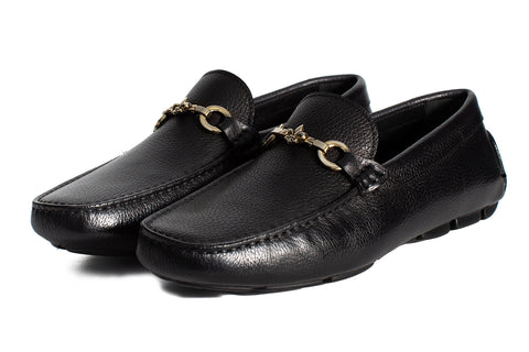 The Woods Bit Driving Loafer - Nero