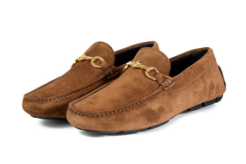 The Woods Bit Driving Loafer - Martora Suede