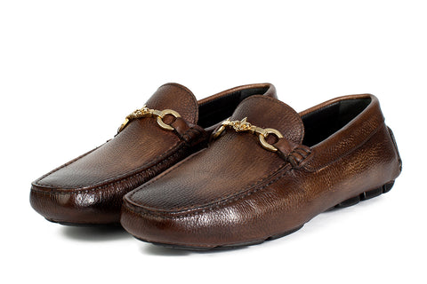 The Woods Bit Driving Loafer - Chocolate