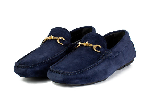 The Woods Bit Driving Loafer - Blue Suede