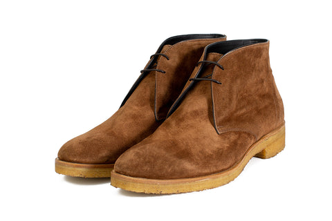 The Gosling Unlined Chukka Boot - Martora Suede