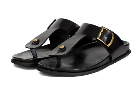 The Crusoe Sandal - Nero