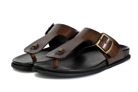 The Crusoe Sandal - Chocolate
