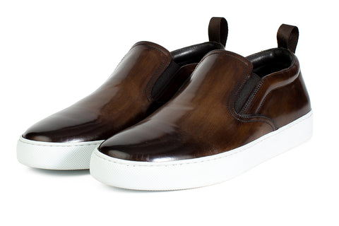 Slip-On Sneaker - Chocolate