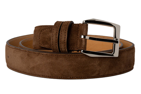 Italian Leather Belt - Martora Suede