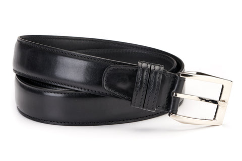 Italian Leather Belt - Nero