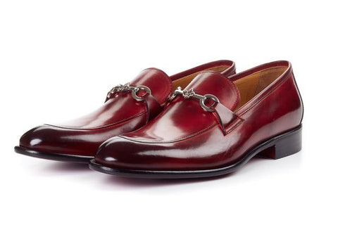 The Caine Bit Loafer - Oxblood