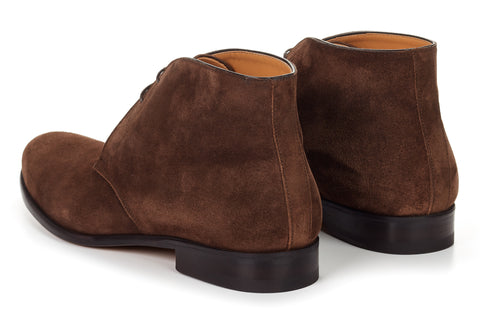 The Newman Chukka Boot - Cafe Suede