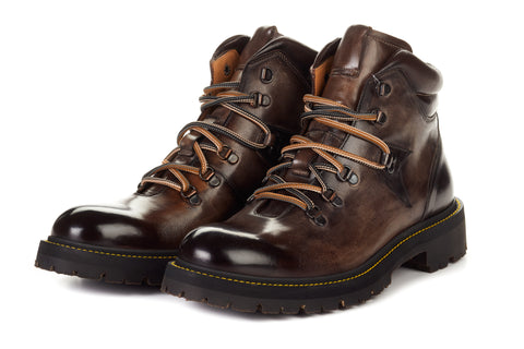 The Craig Hiking Boot - Chocolate
