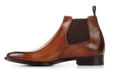 The Wayne Low-Cut Chelsea Boot - Cacao
