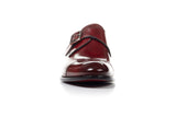 The Olivier Single Monk Strap - Oxblood