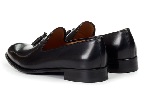 The Chaplin Tassel Loafer - Nero