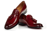 The Chaplin Tassel Loafer - Oxblood