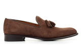 The Chaplin Tassel Loafer - Cafe Suede