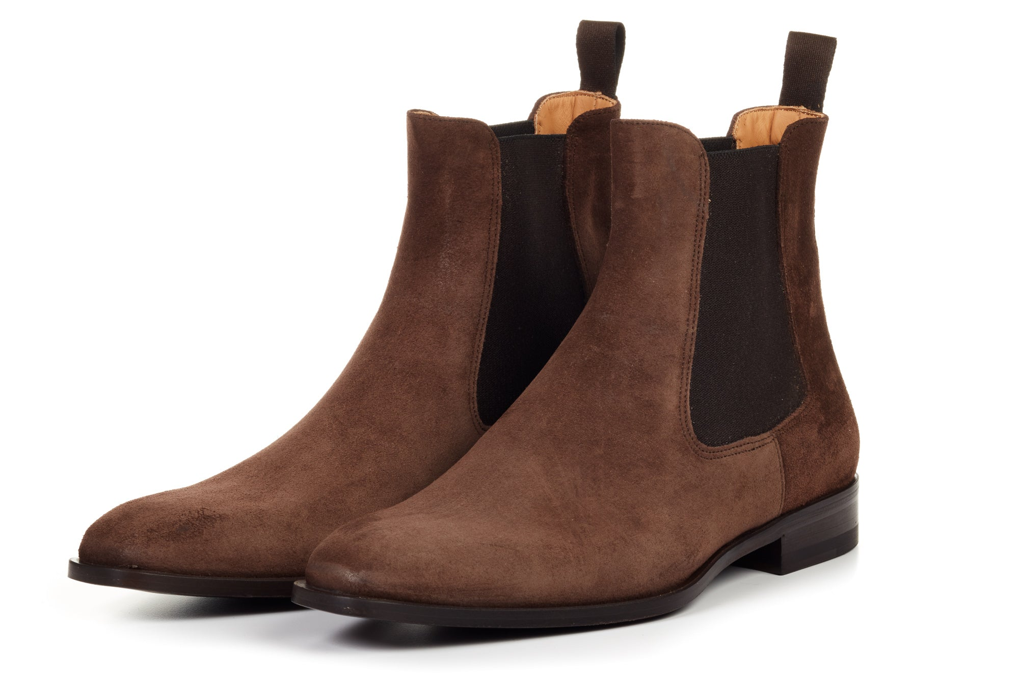 The Dean Chelsea Boot - Cafe Suede