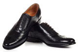 The West II Wingtip Oxford - Nero